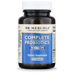 Synbiotyk (probiotyki + prebiotyki) Complete Probiotics 60 kapsułek kenayAG