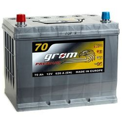 Akumulator GROM Premium 70Ah 620A Japan Lewy plus