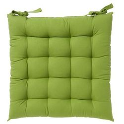 Siedzisko GoodHome Hiva 45 x 45 cm zielone