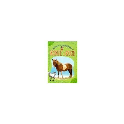 Książki dla dzieci, ALBUM Z NAKLEJKAMI. KONIE I KUCE (opr. broszurowa)