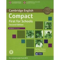 Compact First for Schools 2nd Edition. Ćwiczenia z Kluczem (opr. miękka)
