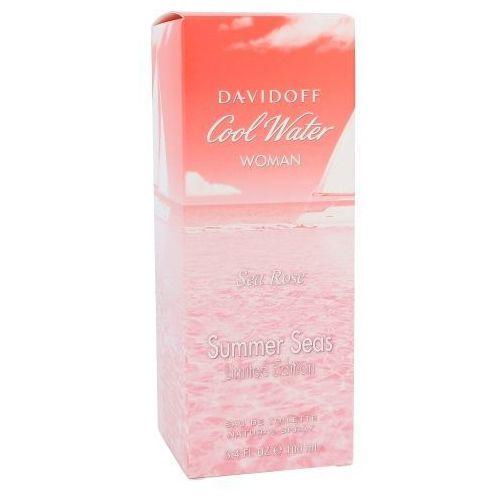 Wody toaletowe damskie, DAVIDOFF Cool Water Sea Rose - woda toaletowa 100 ml
