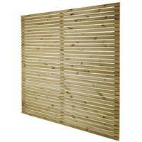 Przęsła i elementy ogrodzenia, Płot panelowy wenecki GoodHome Lemhi 180 x 180 x 3,6 cm