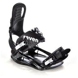 Wiązania snowboardowe Raven s220 (black) 2019