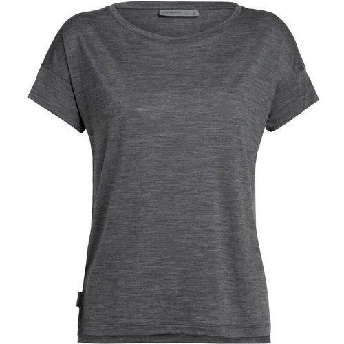 T-shirty damskie, Icebreaker Via Scoop Koszulka Kobiety, monsoon heather XS 2020 Koszulki z krótkim rękawem
