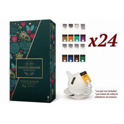 Prezent na walentynki - Zestaw konesera z herbatą Richmont