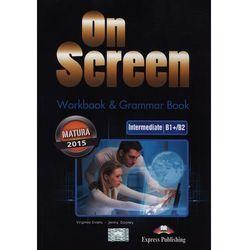 On Screen Inter.WB+Grammar Book Matura 2015 (opr. miękka)