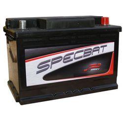Akumulator SPECBAT 12V 74Ah/680A wysoki