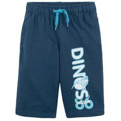 Spodnie ze stretchem Bootcut, z ozdobnymi kieszeniami bonprix czarno-jeżynowy w kratę
