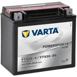 Varta Akumulator AGM 12 V 18 Ah YTX20-4 / YTX20-BS Darmowa wysyłka i zwroty