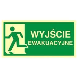 znak kierunek do wyjścia ewakuacyjnego-w lewo