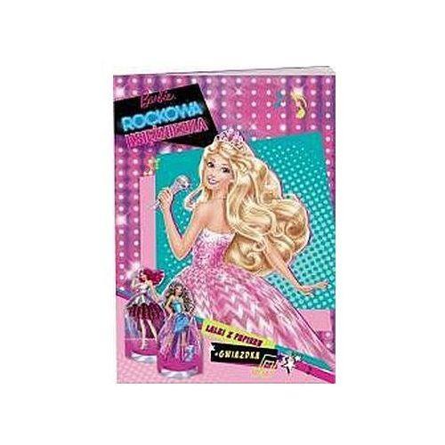 Książki dla dzieci, Barbie. Rockowa księżniczka (opr. broszurowa)