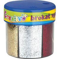 Kreatywne dla dzieci, Brokat ASTRA 6 kolorów (50 g)