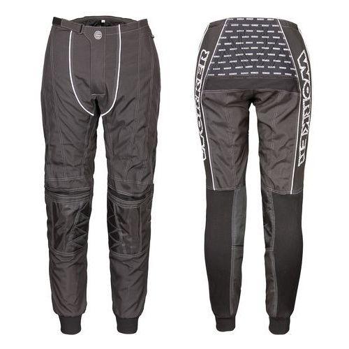 Pozostała odzież motocyklowa, Spodnie Motocross WORKER Razzor Senior, Czarny, S
