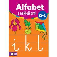 Naklejki, Alfabet z naklejkami G - L