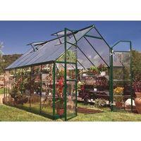 Szklarnie, Szklarnia z poliwęglanu Balance Green 2,44 x 3,67 m Palram
