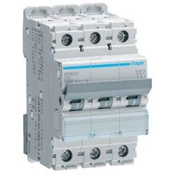 Hager Wyłącznik nadprądowy HAGER NDN332 (3P D32A) - Rabaty za ilości. Szybka wysyłka. Profesjonalna pomoc techniczna.