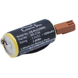 Panasonic BR2/3AE2P / BR-2/3A 1200mAh 3.60Wh Li-MnO2 3.0V (Cameron Sino)