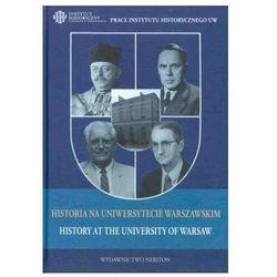 Historia na uniwersytecie warszawskim (opr. twarda)