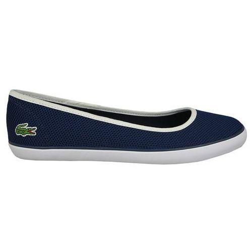 Pozostałe obuwie damskie, BUTY LACOSTE MARTHE 733CAW1041003 - GRANATOWY