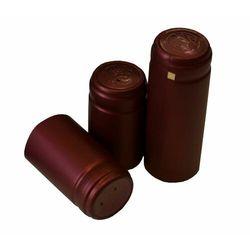 BORDOWE KAPTURKI termokurczliwe 10szt na butelki do wina