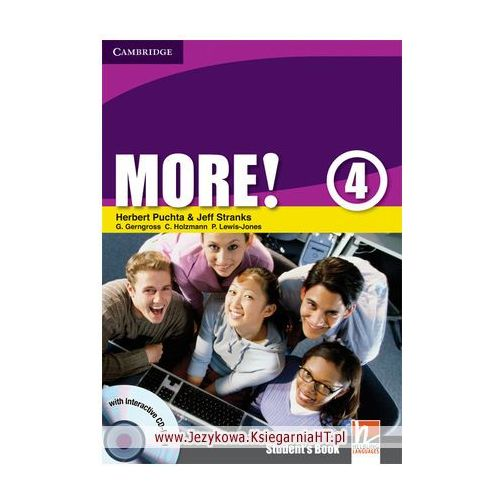 Książki do nauki języka, More! 4 Student's Book (podręcznik) with Interactive CD-ROM (opr. miękka)