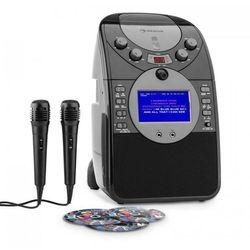 ScreenStar Zestaw karaoke Kamera CD USB SD MP3 z 2 x mikrofon 3 x CD+G
