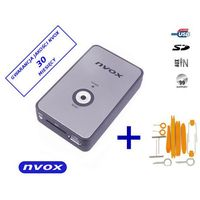 Zmieniarki samochodowe, NVOX NV1080A PEUGEOT RD3 Zmieniarka cyfrowa emulator MP3 USB SD PEUGEOT CITROEN RD3