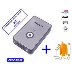 NVOX NV1080A NISSAN Zmieniarka cyfrowa emulator MP3 USB SD NISSAN INFINITI