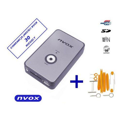 Zmieniarki samochodowe, NVOX NV1080A FIAT 8PIN Zmieniarka cyfrowa emulator MP3 USB SD FIAT 8PIN