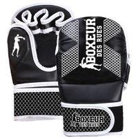 Rękawice do walki, Rękawice do MMA BOXEUR BXT-5210 (rozmiar S) Biało-czarny