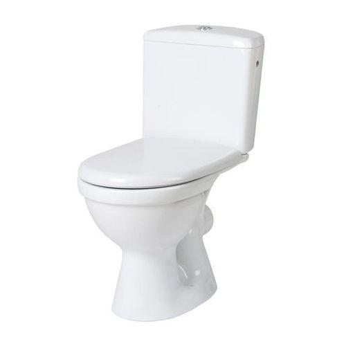 Miski i kompakty WC, CERSANIT MERIDA Kompakt WC 3/6l, odpływ poziomy K03-018