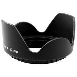 Osłona przeciwsłoneczna TULIPAN 58mm (wkręcana) - czarny
