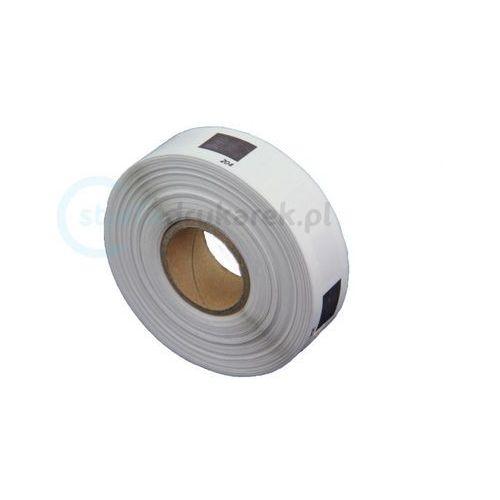 Papiery i folie do drukarek, Etykiety Brother DK-11204 17mm x 54mm do drukarki QL - zamiennik bez uchwytu | OSZCZĘDZAJ DO 80% - ZADZWOŃ! 730811399