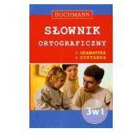 Słowniki, encyklopedie, Słownik ortograficzny 3 w 1 (opr. broszurowa)