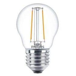 Philips Żarówka światła LED Cla ledluster nd 2-25w p45 e27 827 cl E27
