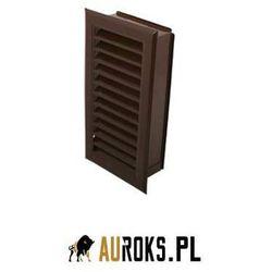 Kratka kominowa 120x240mm kolor: brązowy