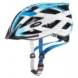 UVEX kask rowerowy Air wing 52-57 cm niebiesko-biały