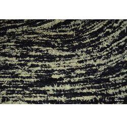 Chodnik bawełniany\pled ręcznie tkany czarno-biały 65x150