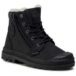 Trapery PALLADIUM - Pampa Hi Cuff Wps 53477-040-M Black/Forged Iron