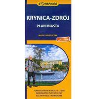 Mapy i atlasy turystyczne, Krynica Zdrój plan miasta 1:17 500 (opr. miękka)