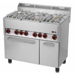 Kuchnia gazowa z piekarnikiem | 30130W | 990x600x(H)860/920mm