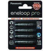 Akumulatorki, Panasonic 4x akumulatorki Eneloop PRO R6 AA 2500mAh