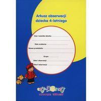Pedagogika, Arkusz obserwacji dziecka 4-letniego (opr. broszurowa)