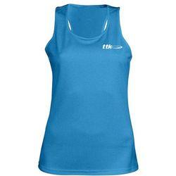 TTK TOP CAPSULE BLUE- koszulka tenisowa R. XL
