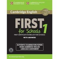 Językoznawstwo, Cambridge English First for Schools 1. Podręcznik z Kluczem + CD (opr. miękka)