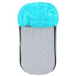 Emitex niemowlęcy śpiworek zimowy ELIPSE szary/niebieski - BEZPŁATNY ODBIÓR: WROCŁAW!
