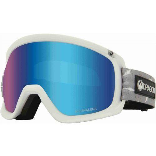 Kaski i gogle, gogle snowboardowe DRAGON - Dr D3 Otg Bonus Sharky Llblueion+Llamber (107)