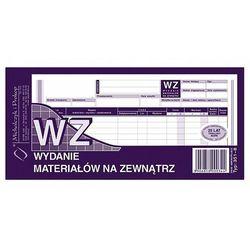 WZ wydanie materiałów na zewnątrz 1/3 A4 80 kartek Michalczyk i Prokop 351-8