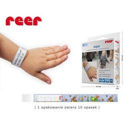 Opaska identyfikacyjna na rękę HelpMe 10 szt, REER